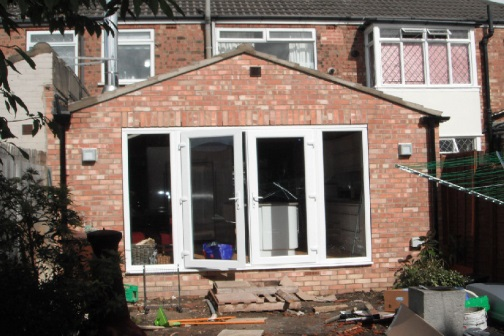 Single storey extension Design and drawings in Hull, Barton upon Humber, Grimsby, York, Bristol, Leeds, Lincoln, Gloucester, Yorkshire
